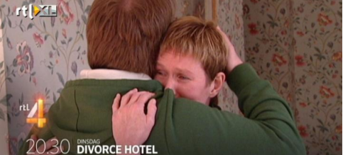 scheiden in een hotel