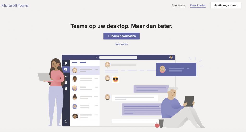 online scheiden met microsoft teams